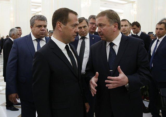 حفل توديع رئيس أوزبكستان الراحل اسلام كريموف