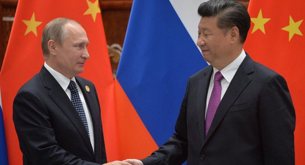 بوتين مع الرئيس الصيني