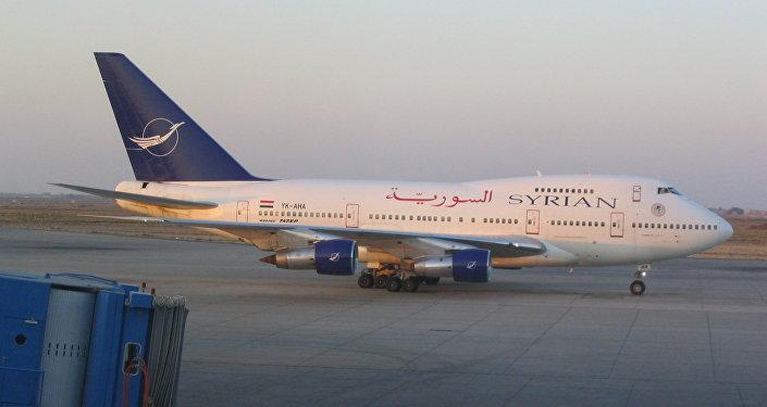إحدى طائرات الشركة السورية للطيران