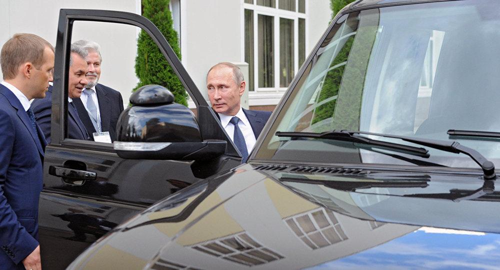 وصول بوتين إلى مدينة تولا