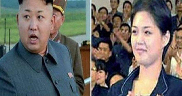 الزعيم الكوري كيم جونغ أون وأخته