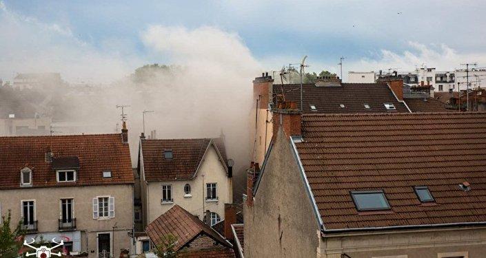 انفجار في فرنسا