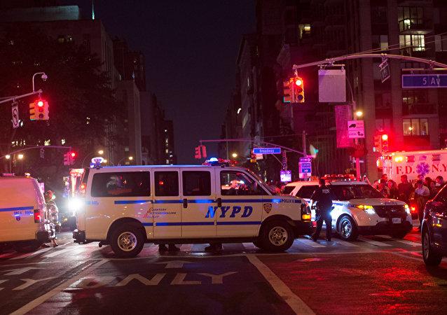 انفجار في نيويورك