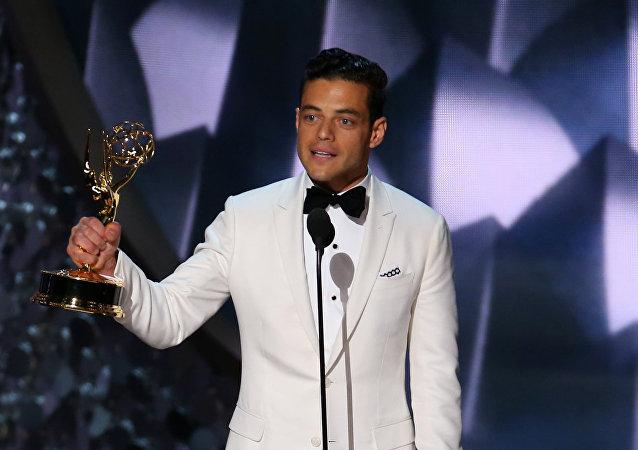 الممثل المصري الأمريكي الجنسية رامي مالك