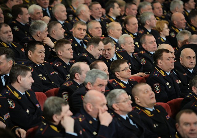 اجتماع لمسؤولي وزارة الداخيلة الروسية