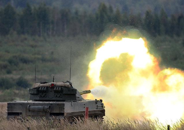مدفع سبروت-إس دي إم1 الذاتي الحركة