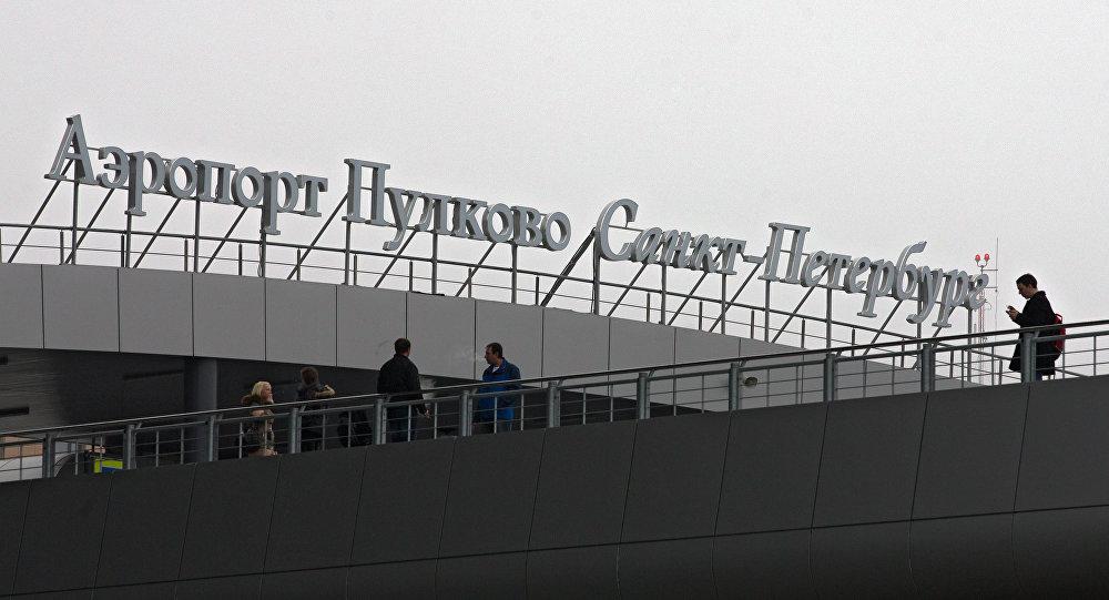 مطار بولكوفو في سانت بطرسبورغ