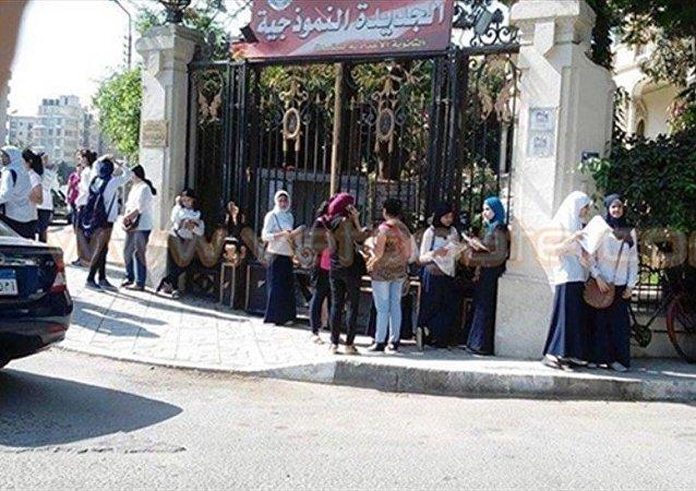 مدرسة في مصر