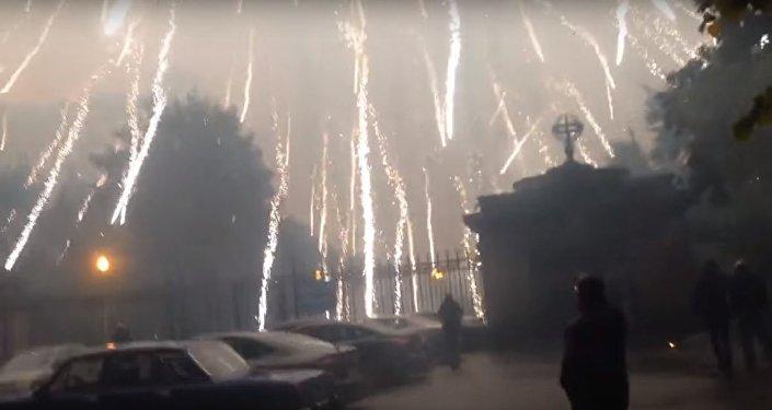 الجحيم يفتح أبوابه فوق العاصمة الروسية