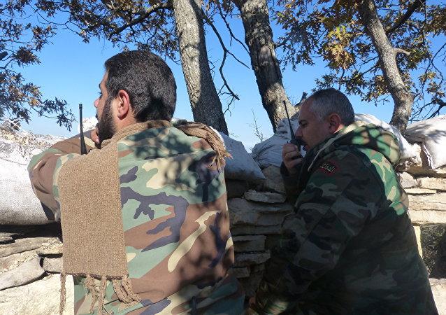 الجيش السوري والدفاع الوطني
