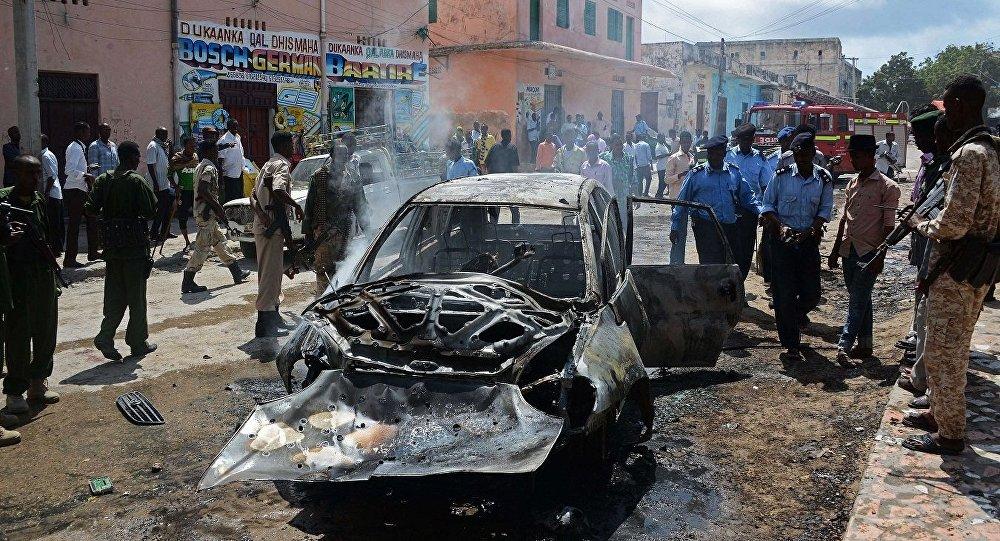 انفجار سيارة بالصومال