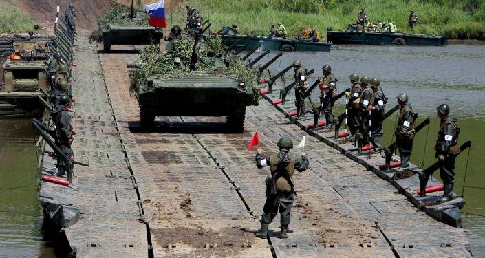 مناورات وحدات الجيش الخامس في إقليم بريمورسكي