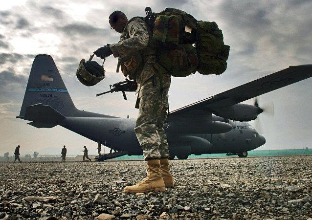 جندي من الجيش الأمريكي