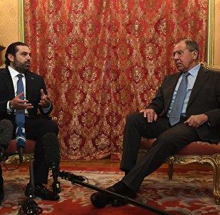 لافروف يلتقي سعد الحريري