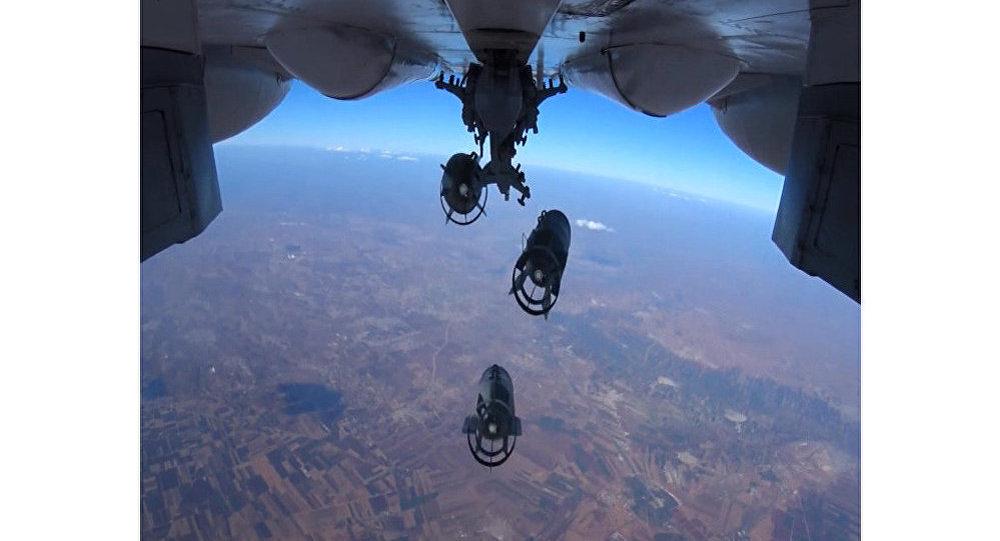 قوات الدفاع الجوي-الفضائي الروسية خلال عمليتها العسكرية في سوريا.