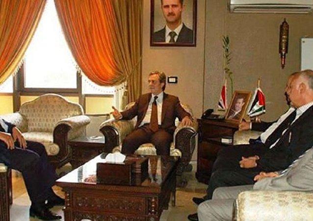 وزير الاقتصاد والتجارة الخارجية السوري الدكتور أديب ميالة