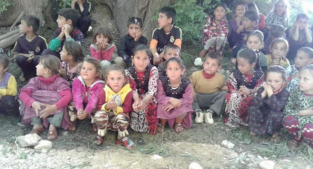 مصير أطفال السبايا الايزيديات الناجيات من داعش