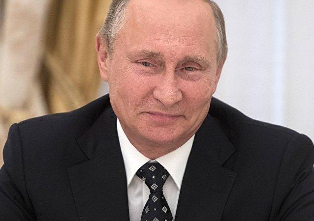 الرئيس فلاديمر بوتين