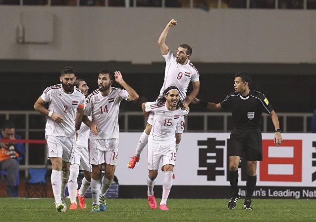 فريق سوريا لكرة القدم