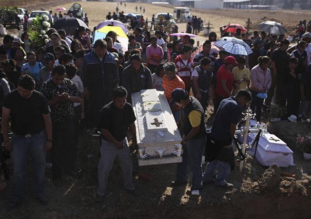مقبرة في المكسيك