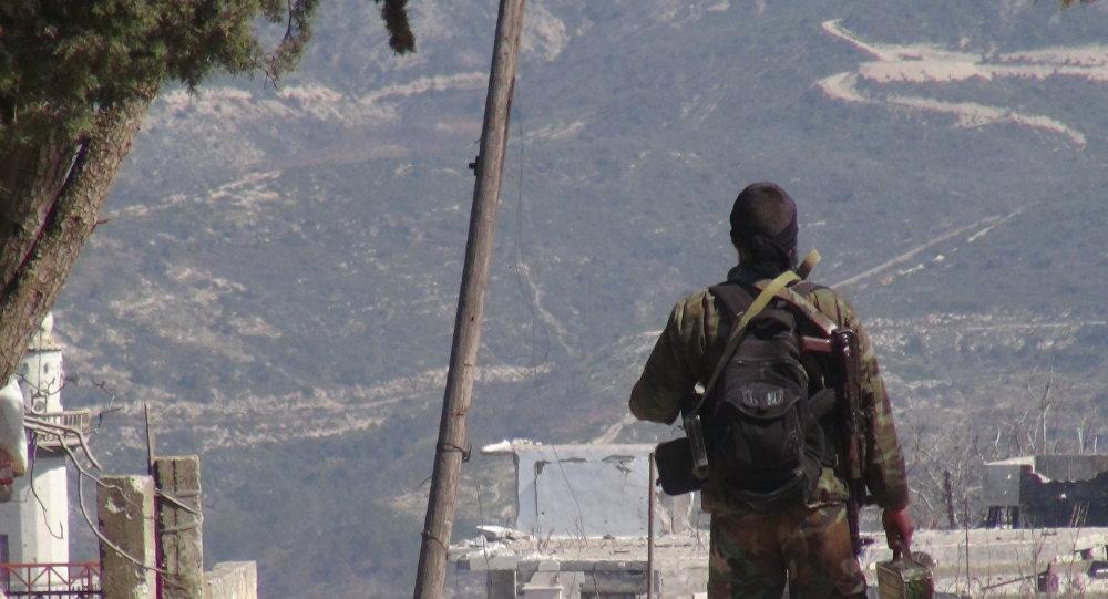 جندي في الجيش السوري