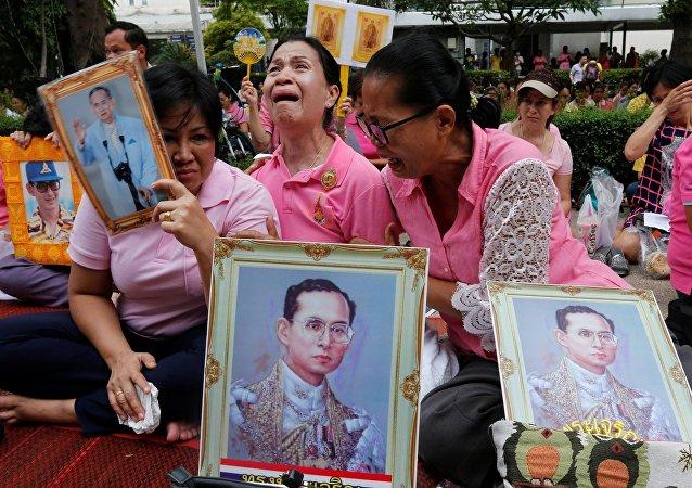 وفاة ملك تايلاند