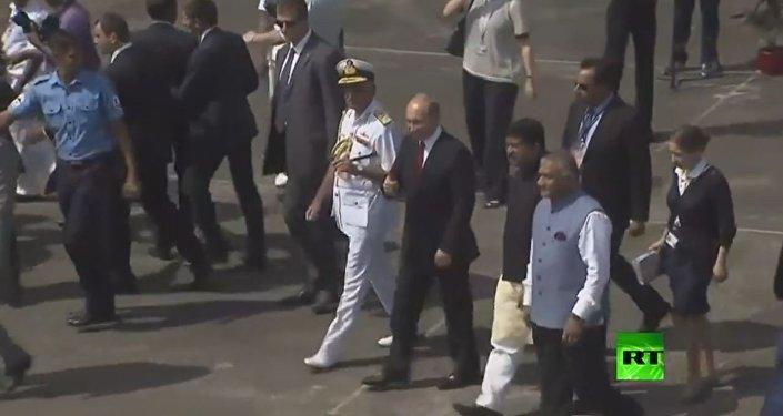 استقبال بوتين فى الهند
