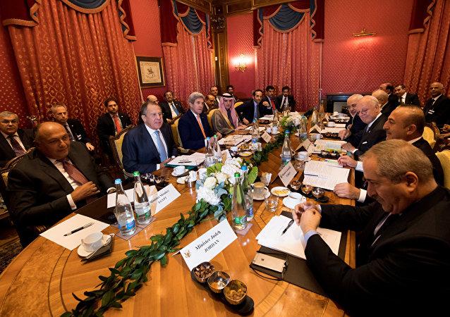 محادثات لوزان حول سوريا