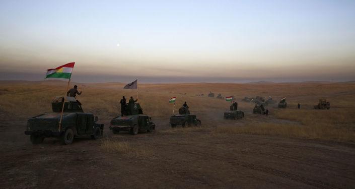 قوات البشمركة يستعدون لعملية تحرير الموصل