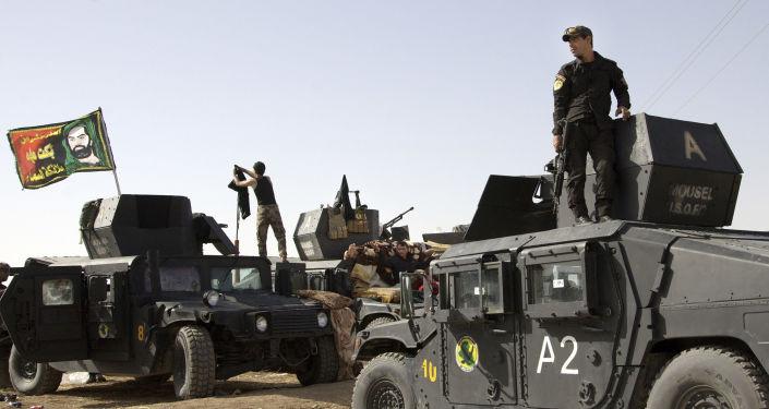القوات العراقية الخاصة يستعدون لعملية تحرير الموصل