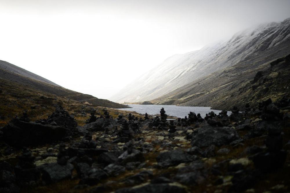 لغز الجمال الساحر لشمال روسيا - فجر ضبابي في جبال خيبيني