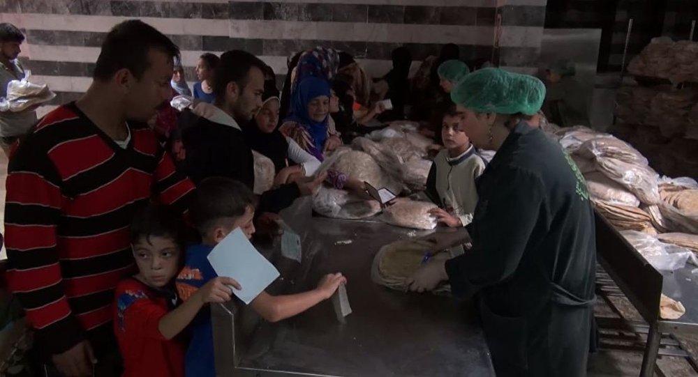 مركز الإيواء في سوريا
