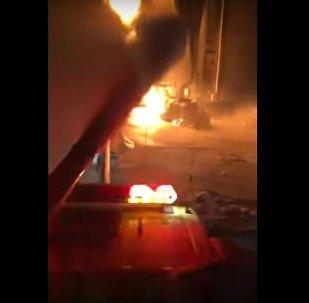 حريق أرامكو