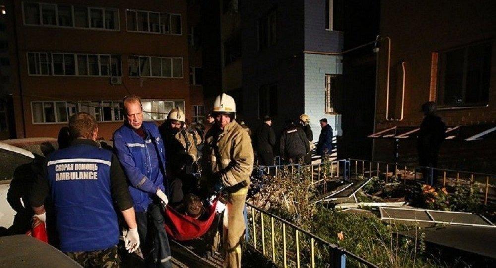 انفجار غاز في روسيا