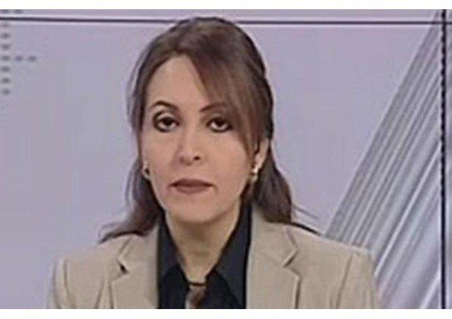 مذيعة التليفيزيون المصري