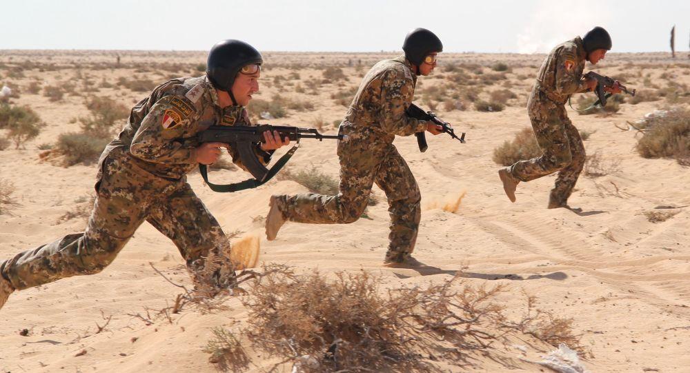 مناورات مكافحة الإرهاب حماه الصداقة-2016