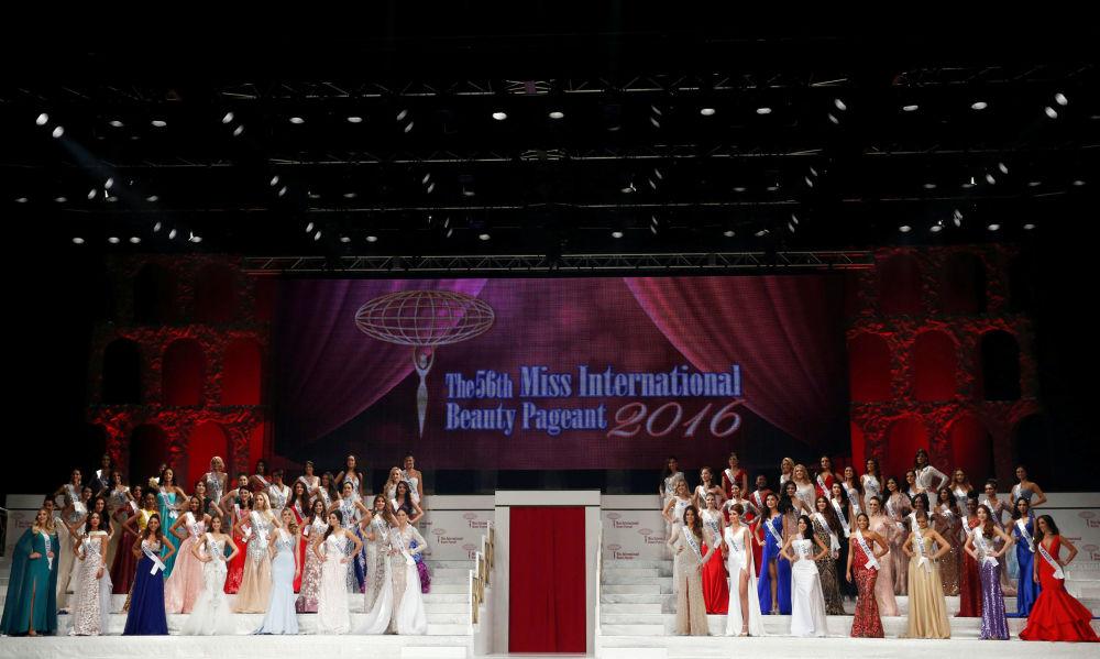 المشاركات في مسابقة الجمال السنوية ملكة الجمال الدولية - 2016 طوكيو