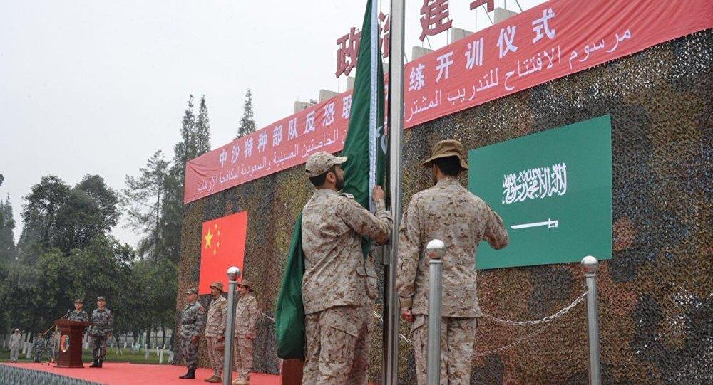 تدريبات عسكرية مشتركة بين الصين والسعودية