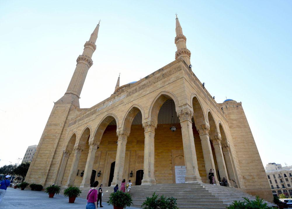 جامع محمد الأمين وسط مدينة بيروت