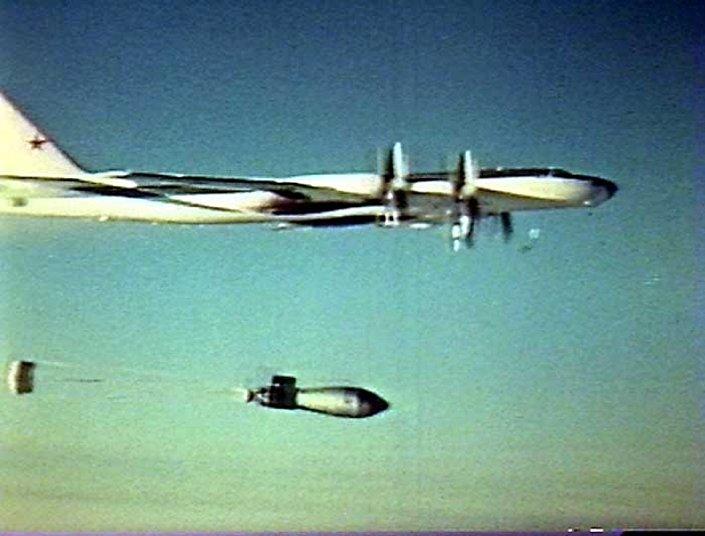 """أشرس قنبلة نووية في التاريخ... """"ملكة القنابل"""" أقوى قنبلة سوفيتية عرفتها البشرية  1020628884"""