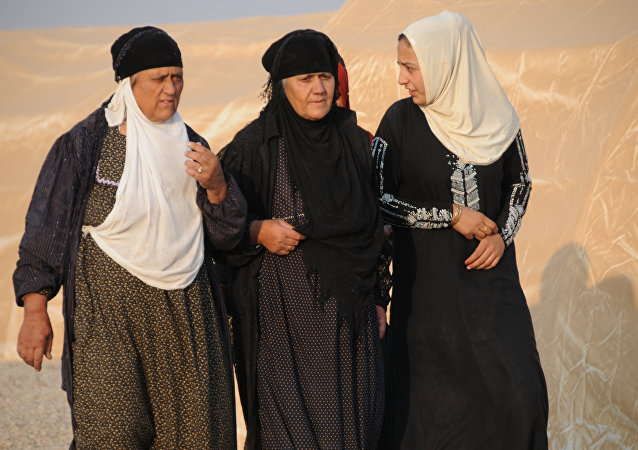 النساء الهاربات من الموصل