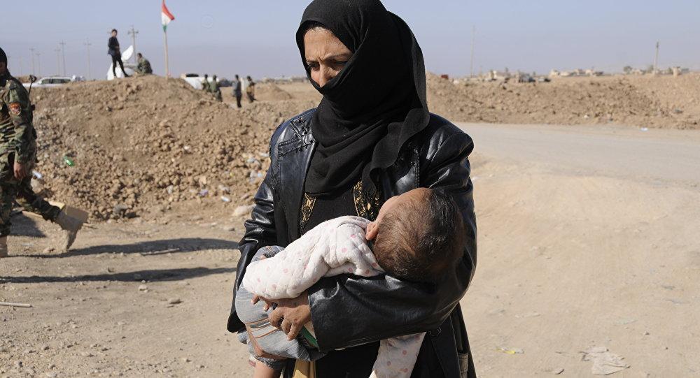 نساء الموصل الهاربات من داعش - سارة عبدالله