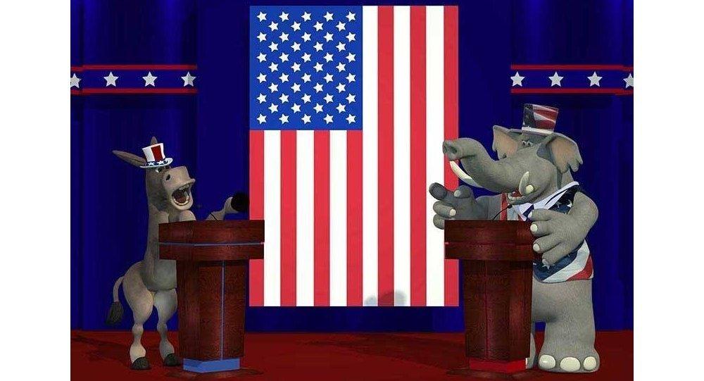 قصة الحمار الديمقراطي والفيل الجمهوري 1020741978