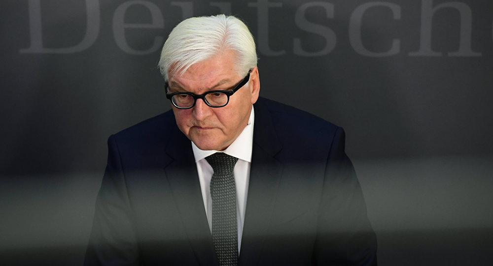 وزير الخارجية الألماني فرانك فالتر شتاينماير