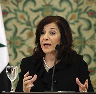 بثينة شعبان مستشارة الرئيس السوري