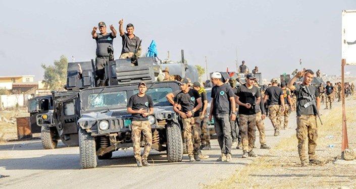 القوات العراقية والكردية تحررالموصل