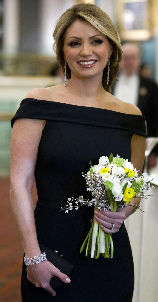السيدة الأولى أنجليكا ريفيرا، زوجة رئيس المكسيك إنريكي بني نيتو، 2015