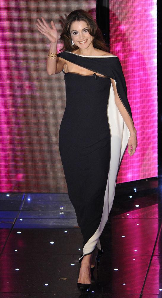 الملكة رانيا، زوجة الملك عبدالله الثاني، 2010