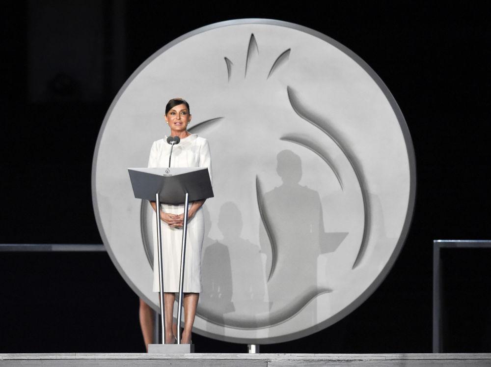 السيدة الأولى ميهريبان عليفيا، زوجة رئيس أذربيجان، 2015