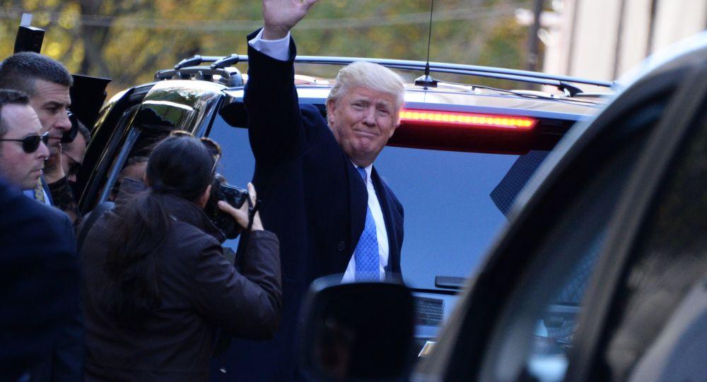 الجمهوري دونالد ترامب يفوز بالانتخابات الرئاسية الأمريكية على نظيرته الديموقراطية هيلاري كلينتون، 9 نوفمبر/ تشرين الثاني 2016